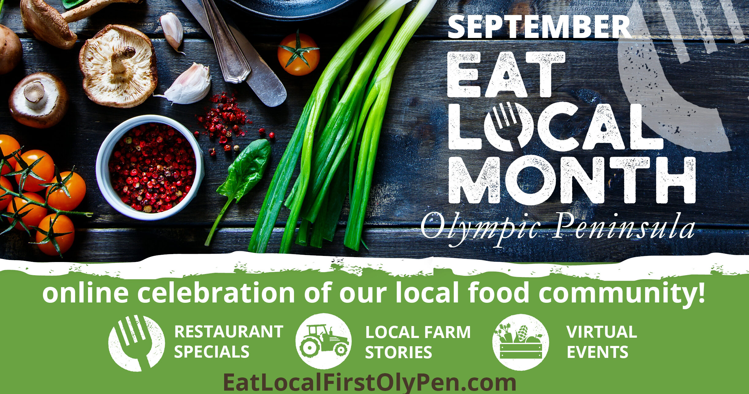 Eat Local Month begins in September on North Olympic Peninsula